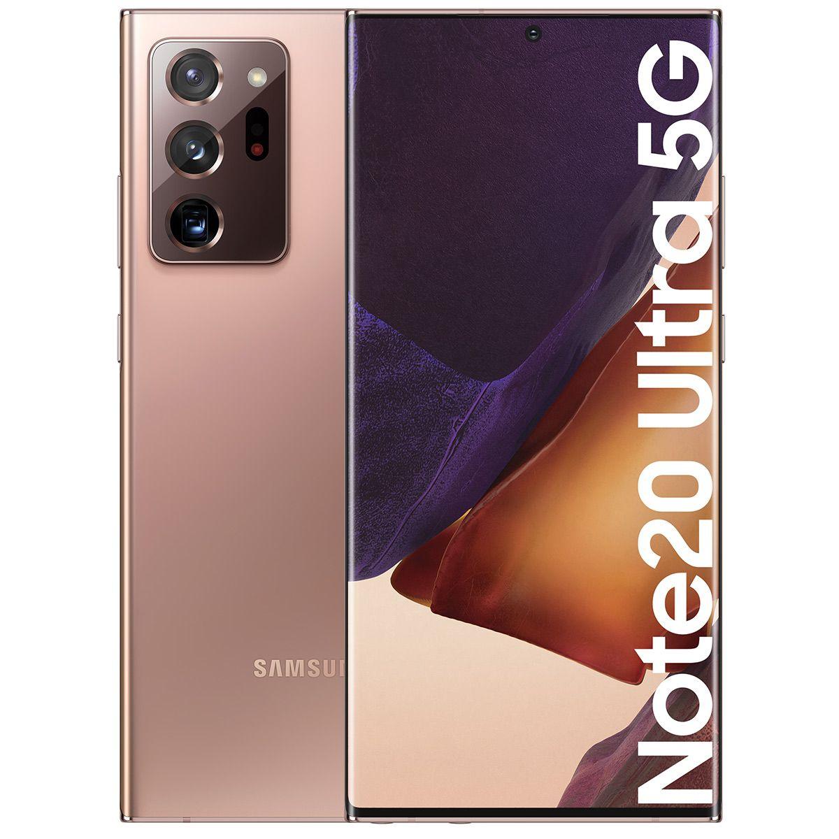 """Smartphone 6.9"""" Samsung Galaxy Note 20 Ultra 5G (N986B-DS) - 256 Go"""