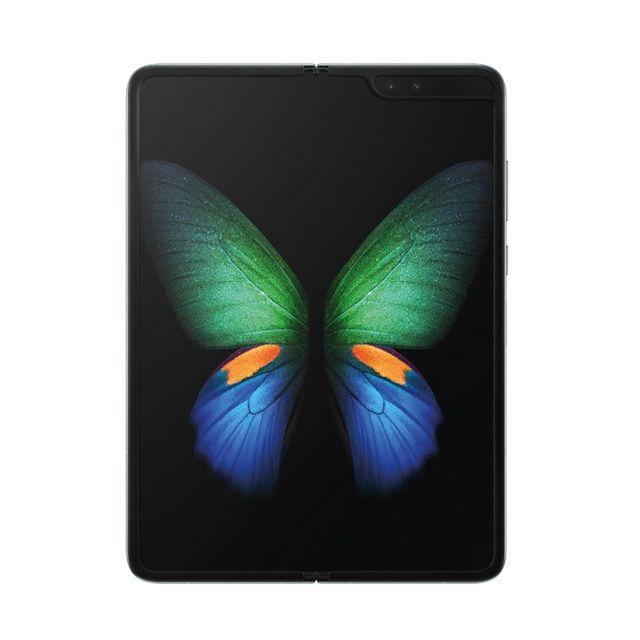 """Smartphone pliable 7.3"""" Samsung Galaxy Fold 5G - Full HD, SnapDragon 855, 12 Go RAM, 512 Go (Argent)"""