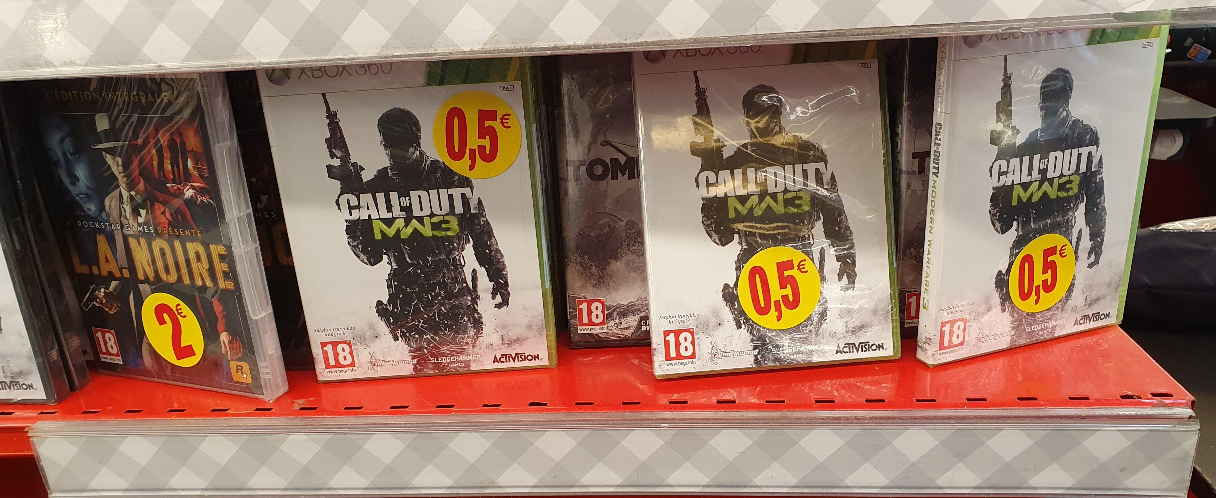 Sélection de jeux vidéo en promotion - Ex : Call of Duty Modern Warfare 3 sur Xbox One - Lyon Félix Faure (69)
