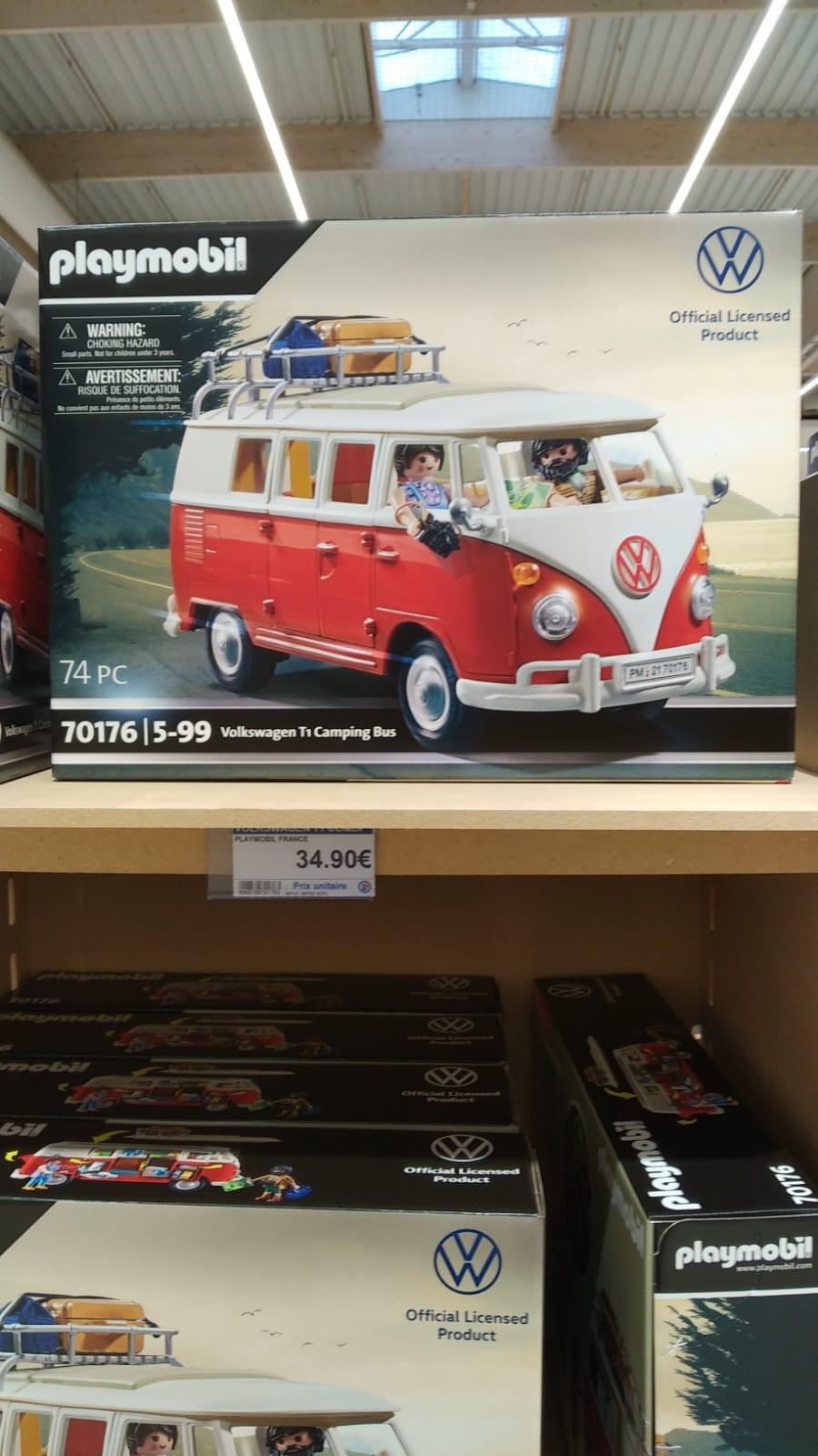 Jouet Playmobil Volkswagen T1 Camping Bus (70176) - Vannes (56)
