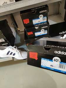 Baskets Adidas Easy Vulc 2.0 (Blanc/Maron, Tailles 40 à 46) - Adidas Outlet Claye Souilly (77)