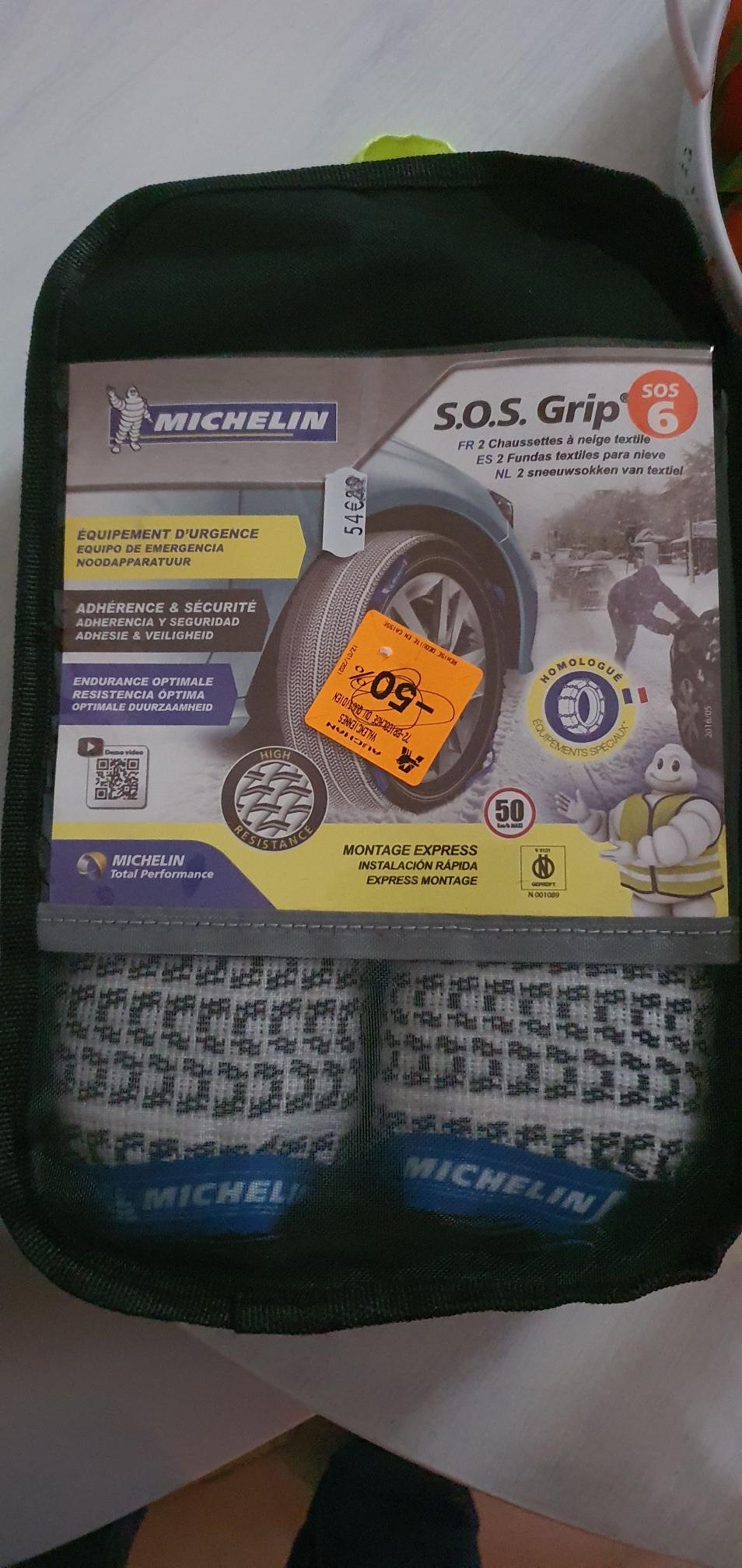 Chaussettes à Neige Michelin SOS Grip - Valenciennes (59)