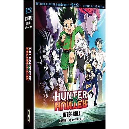 Coffret Blu-Ray Hunter x Hunter - Vol. 1 ou 2