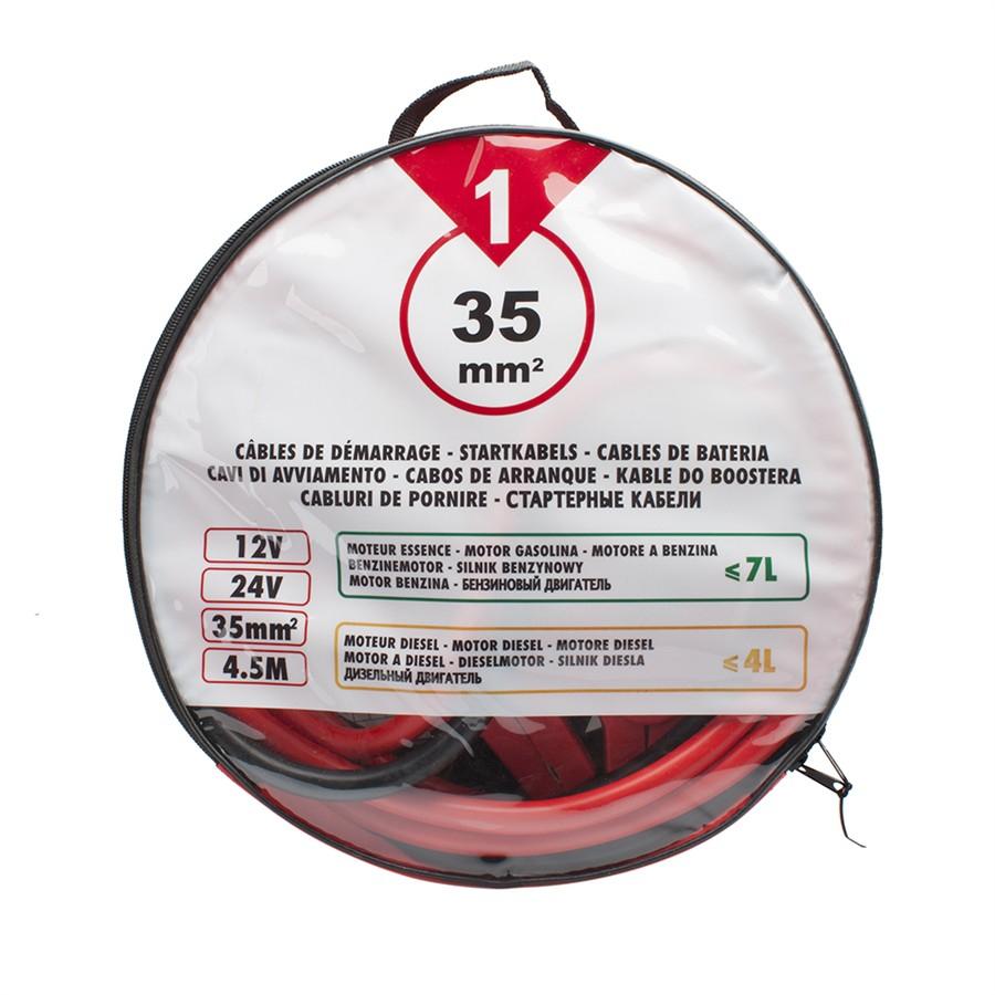 Câbles de démarrage One 35 mm² - 4,5 m