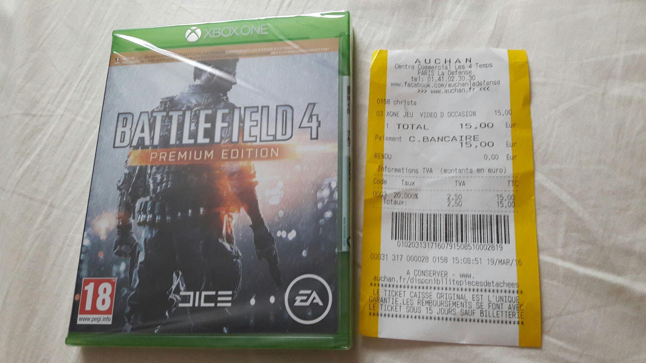 Battlefield 4 Premium Edition sur Xbox One