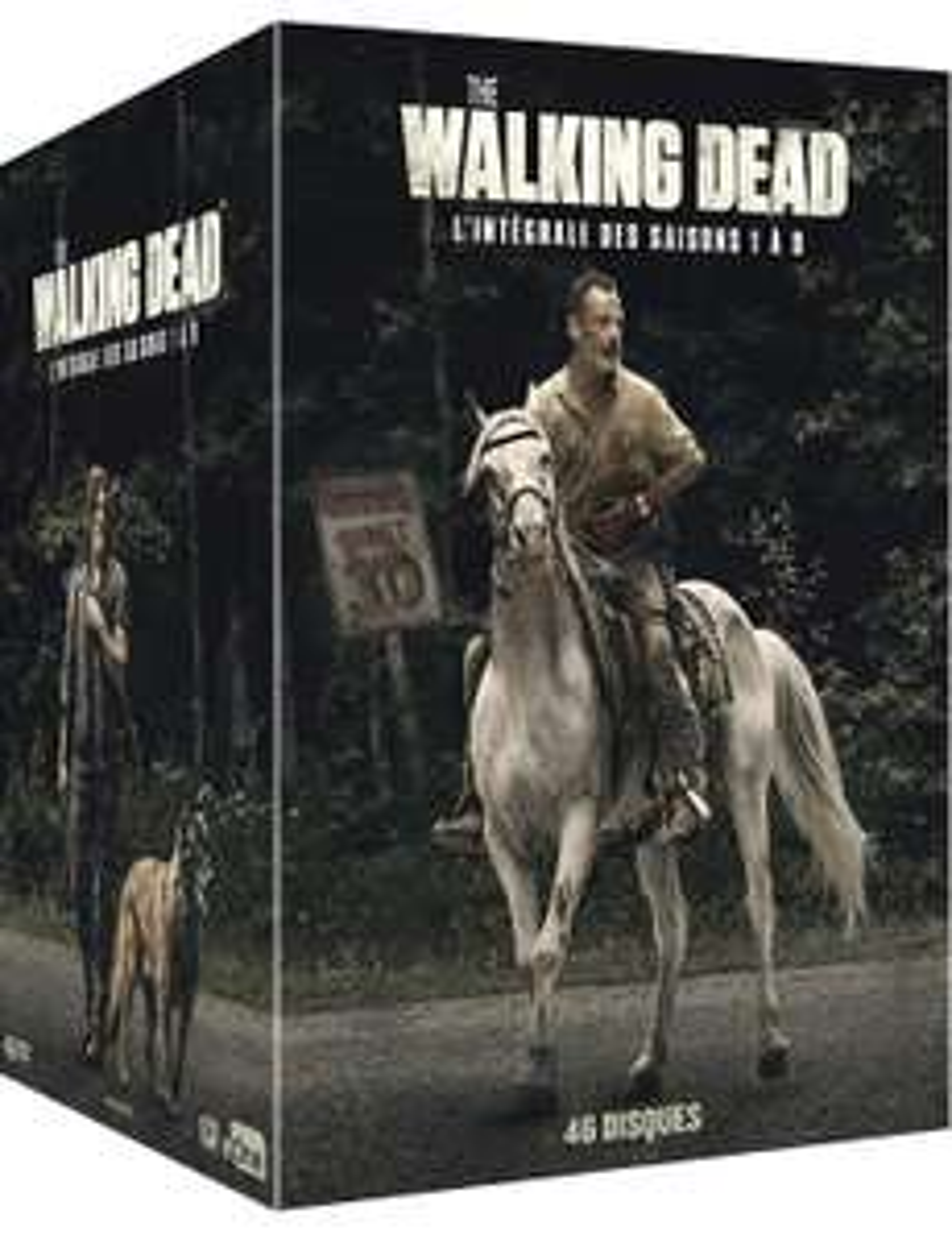 Coffret DVD The Walking Dead - L'intégrale des saisons 1 à 9