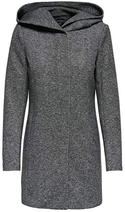 Manteau Only Onlsedona Light Coat pour Femme - Gris, toutes tailles