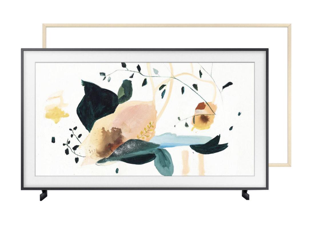 "TV 43"" Samsung The Frame QE43LS03T (4K UHD, QLED, Smart TV) + cadre + barre de son Samsung HWS41T (via ODR de 400€)"