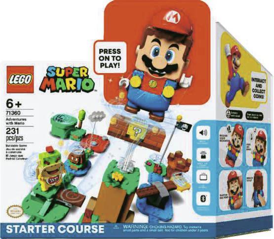 Pack de démarrage LEGO Aventures Super Mario 71360