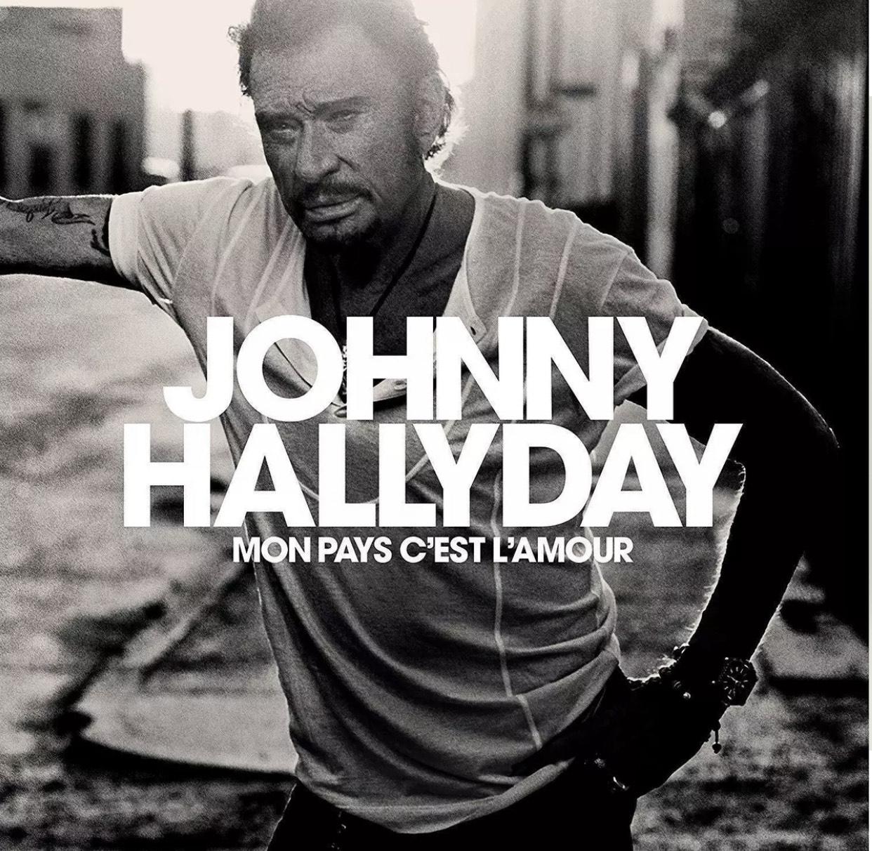 Vinyle Johnny Hallyday - Mon pays c'est l'amour