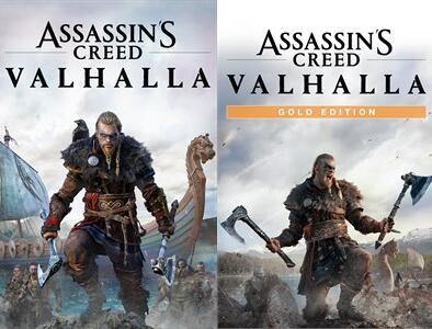 Assassin's Creed Valhalla Standard Edition à 28,59€ et Gold Edition à 42,63€ sur Xbox One & Series X S (Dématérialisés - Store Microsoft BR)