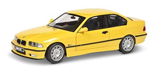 Voiture Miniature de Collection Solido BMW M3 Jaune Dakar