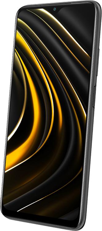 "Smartphone 6.53"" Xiaomi Poco M3 - Full HD+, SnapDragon 662, 4 Go de RAM, 128 Go"