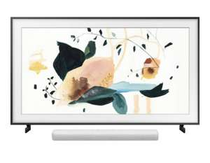 "TV 50"" QLED Samsung The Frame QE50LS03T (2020) - 4K UHD, HDR, Smart TV + Cadre The Frame 50 + Barre de son SAMSUNG HW-S41T (via ODR 400€)"