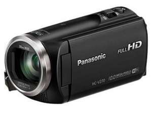 Caméscope Panasonic HC-V270 - Full HD - Wi-Fi - Zoom 50x