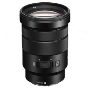 Objectif photo hybride motorisé Sony E PZ 18-105mm f4 G OSS - monture Sony-E