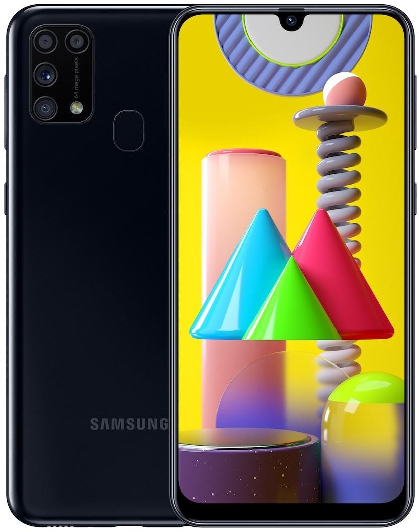 "Smartphone 6.4"" Samsung Galaxy M31 - full HD+, Exynos 9611, 6 Go de RAM, 64 Go, 6000 mAh, différents coloris"