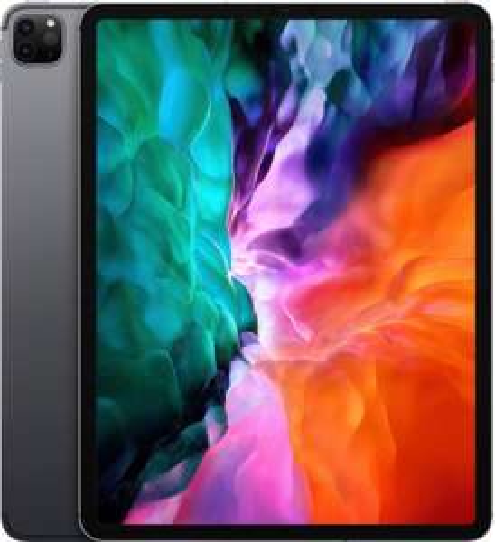 "Tablette tactile 12.9"" Apple iPad Pro 12.9 (2020) - Retina, A12Z, 6 Go de RAM, 256 Go, gris"