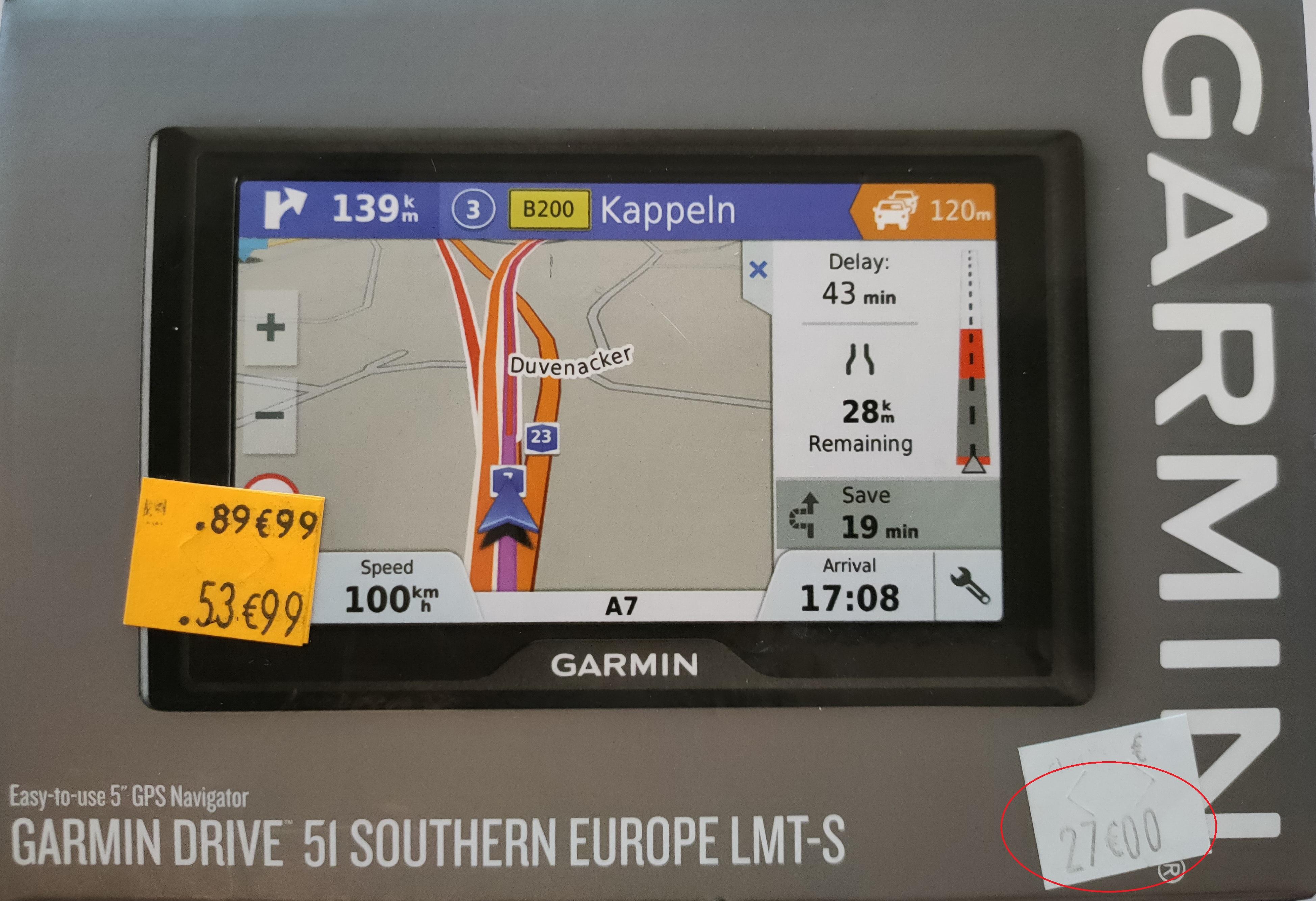 "GPS 5"" Garmin Drive 51 Europe du Sud (15 pays) - L'Haÿ-les-Roses (94)"