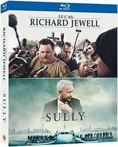 Coffret Blu-Ray 2 films - Le cas Richard Jewell et Sully