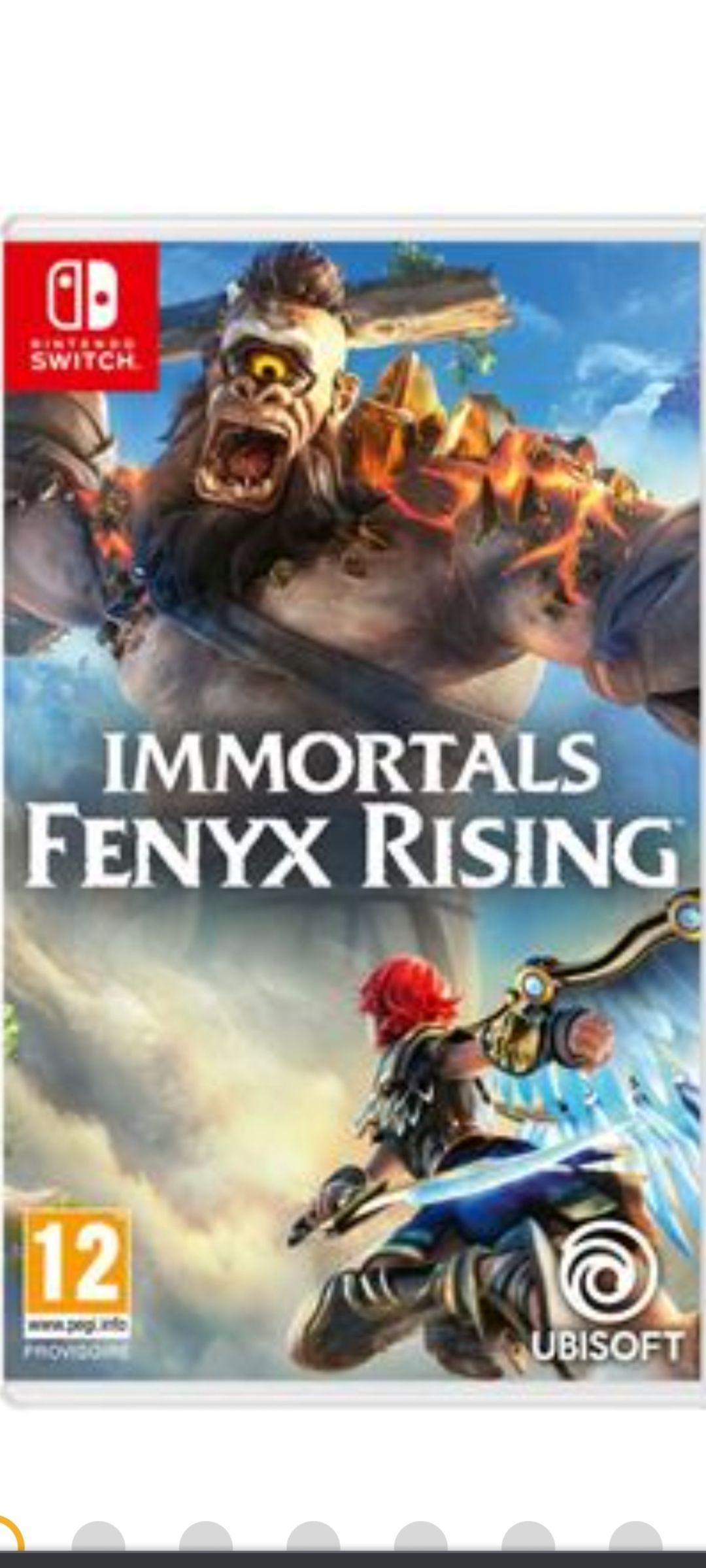 Immortels: Fenyx Rising sur Nintendo Switch