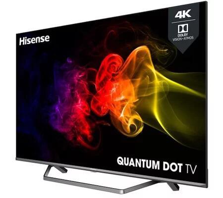 "TV 50"" Hisense 50U72QF - QLED, 4K, HDR 10+, Dolby Vision, 50 Hz, Smart TV + 10 Films 4K HDR sur Rakuten TV (+ 29.92€ en RP) - Via ODR 100€"