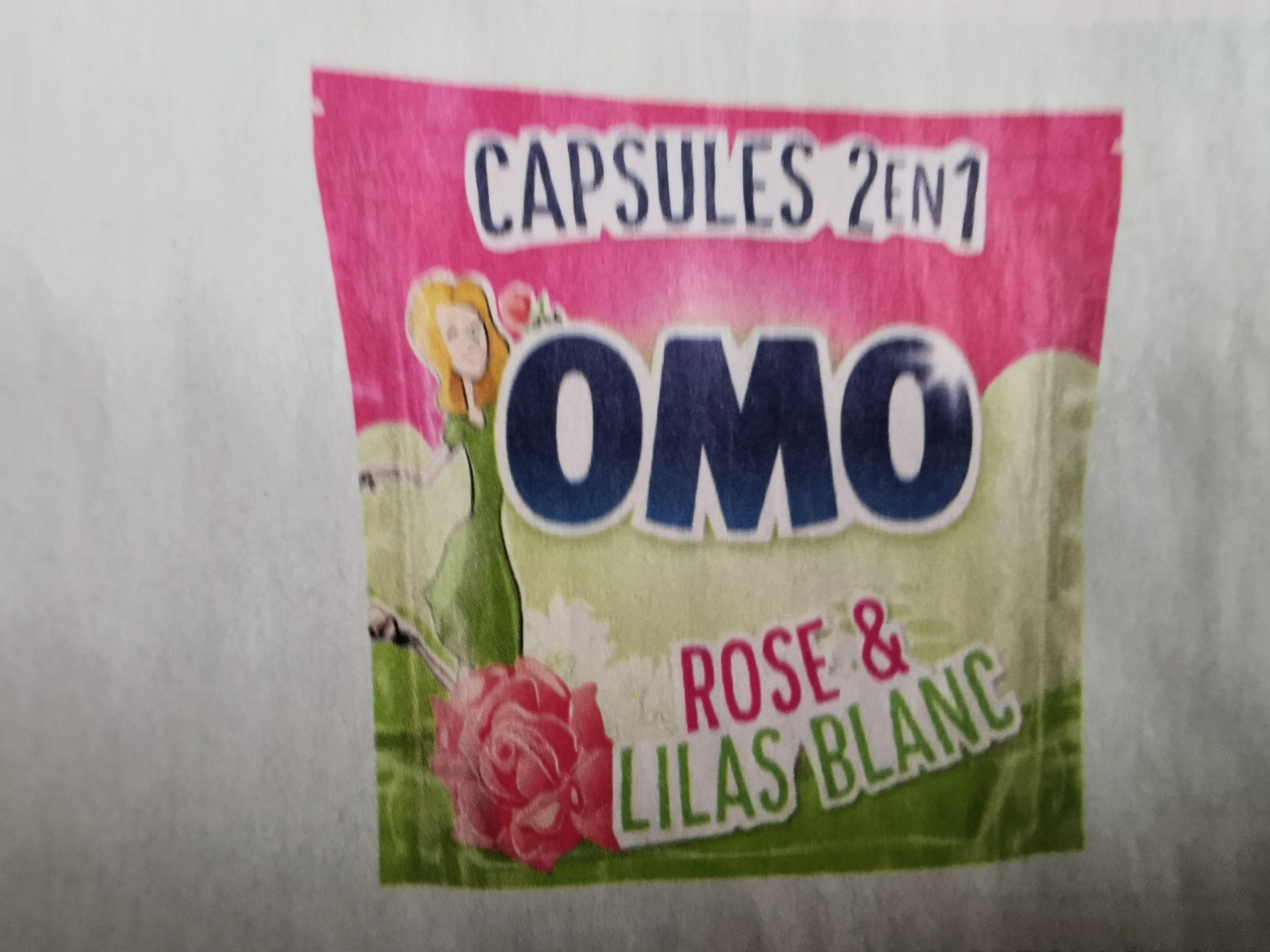 Paquet de 30 capsules de Lessive Omo 2-en-1 - Diverses variétés (via 4.88€ sur la Carte de Fidélité + BDR)