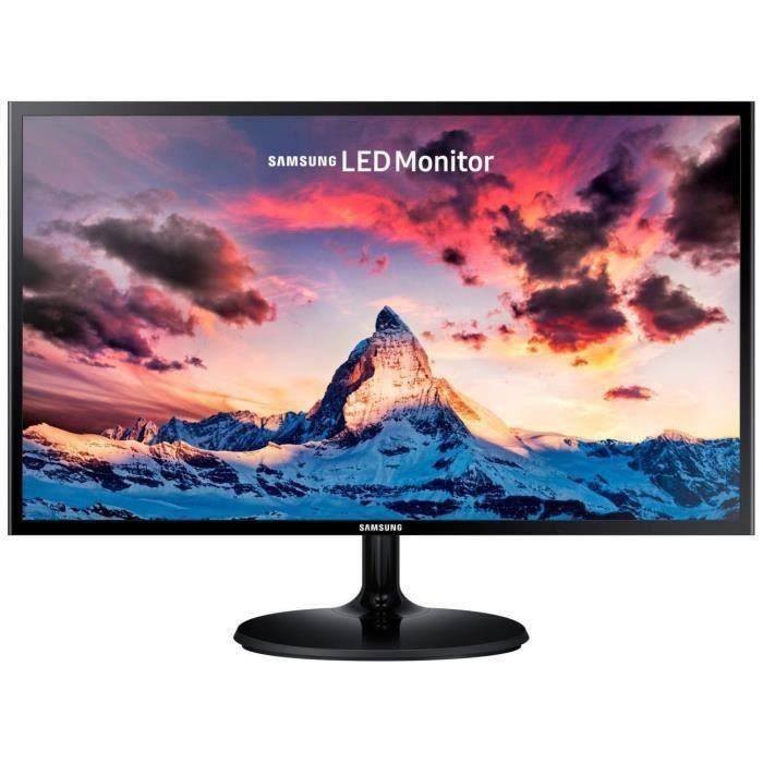 "Écran PC 23.5"" Samsung S24F354 - full HD, LED PLS, 4 ms AMD Freesync"
