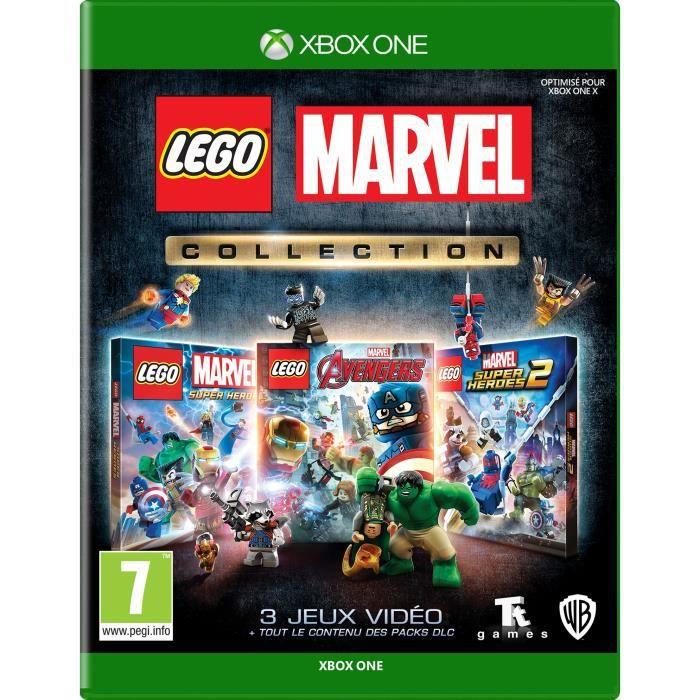 Jeu Lego Marvel Collection sur Xbox One