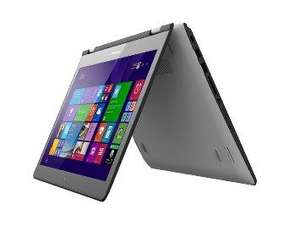 "PC portable tactile 14"" Lenovo Yoga 500-14IBD - Blanc (Intel Core i3, 4 Go RAM, 500 Go)"