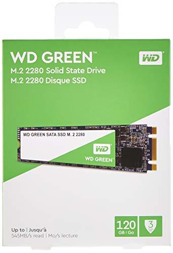 SSD interne M.2 (2280) Western Digital Green - 120 Go