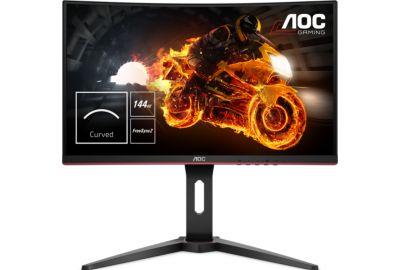 """Ecran PC 24"""" AOC C24G1 - FullHD, Incurvé, 144Hz, 1ms, ajustable (vendeur Boulanger)"""