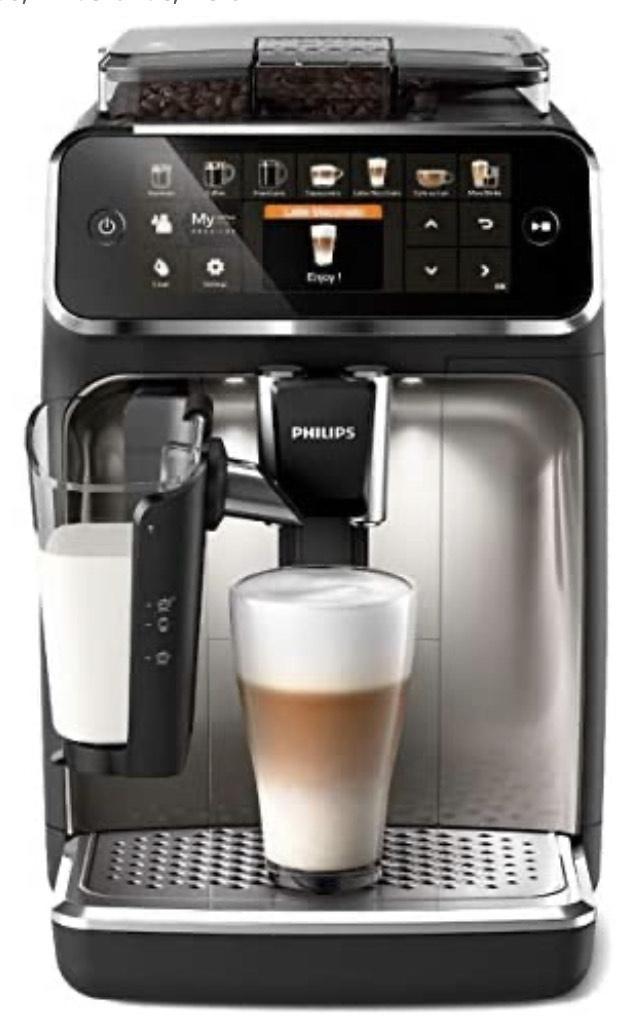 Machine espresso automatique Philips Séries 5400 LatteGo EP5447/90