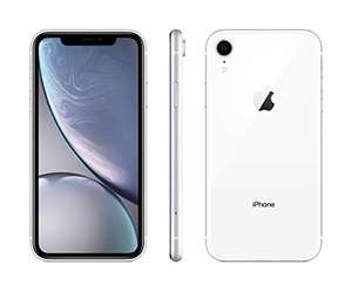 "Smartphone 6.1"" Apple iPhone XR - 64 Go, Blanc"