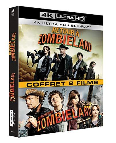 Blu-Ray 4K Zombieland Diptyque (2 films)
