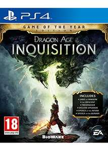 Dragon Age Inquisition - Edition Game of the Year sur PS4