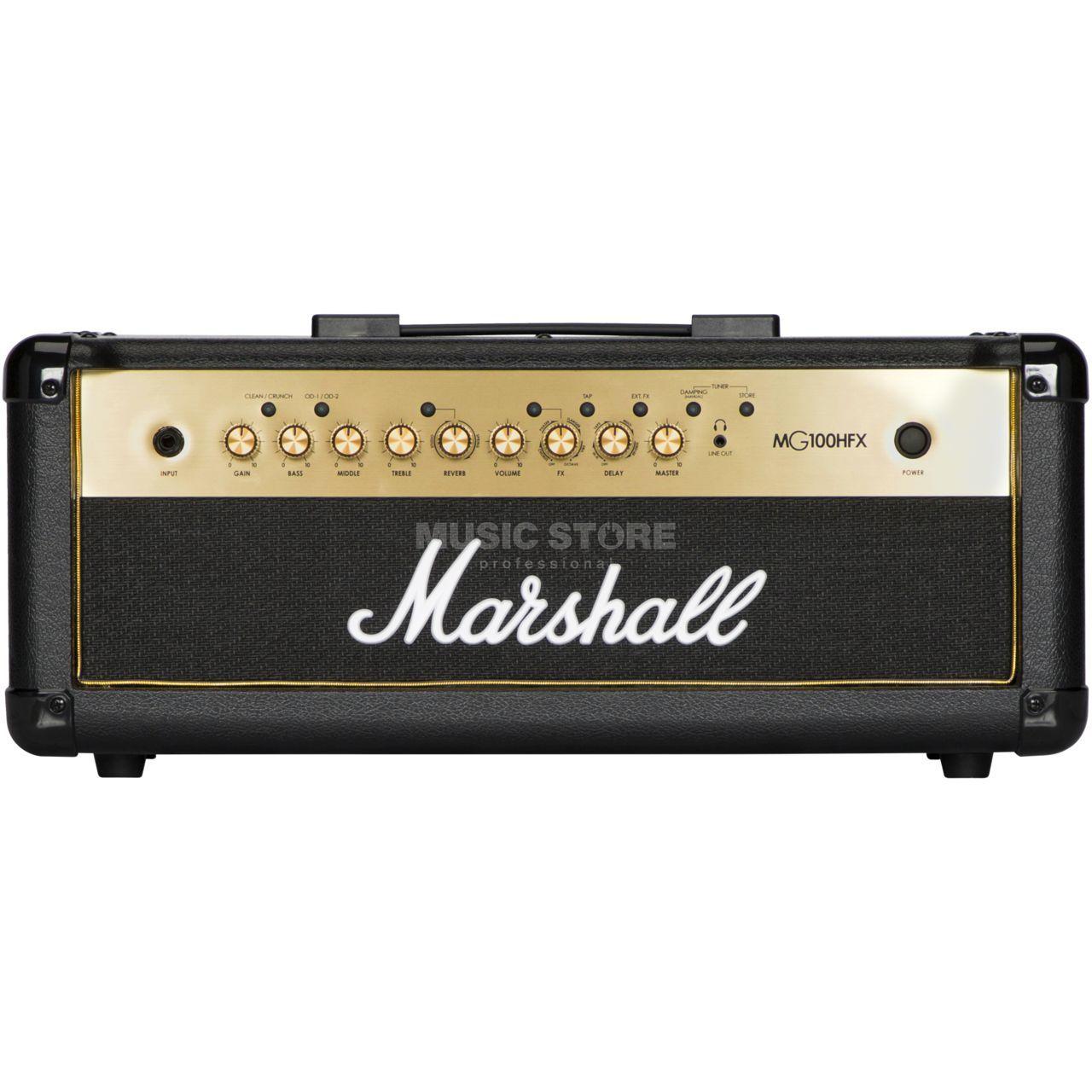 Tête d'ampli guitare 100W Marshall MG100HFX MG Gold