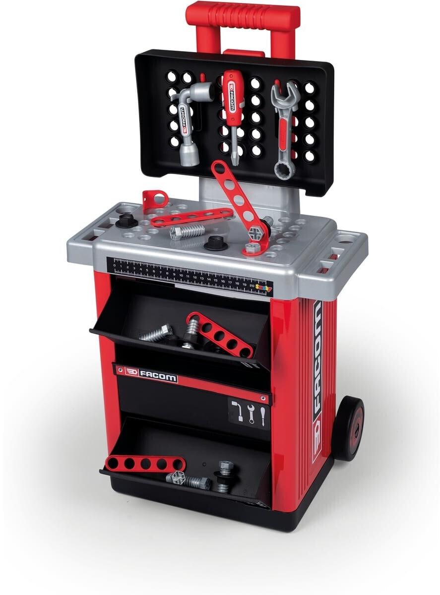 Jouet chariot de bricolage pour enfant Smoby Servante de bricolage Facom (360218)
