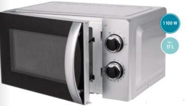 Four à micro-ondes SilverCrest - 17 L, 1100 W