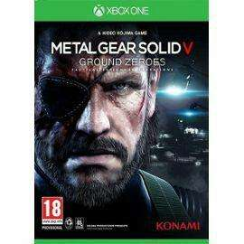 Metal Gear Solid V - Ground Zeroes sur Xbox One