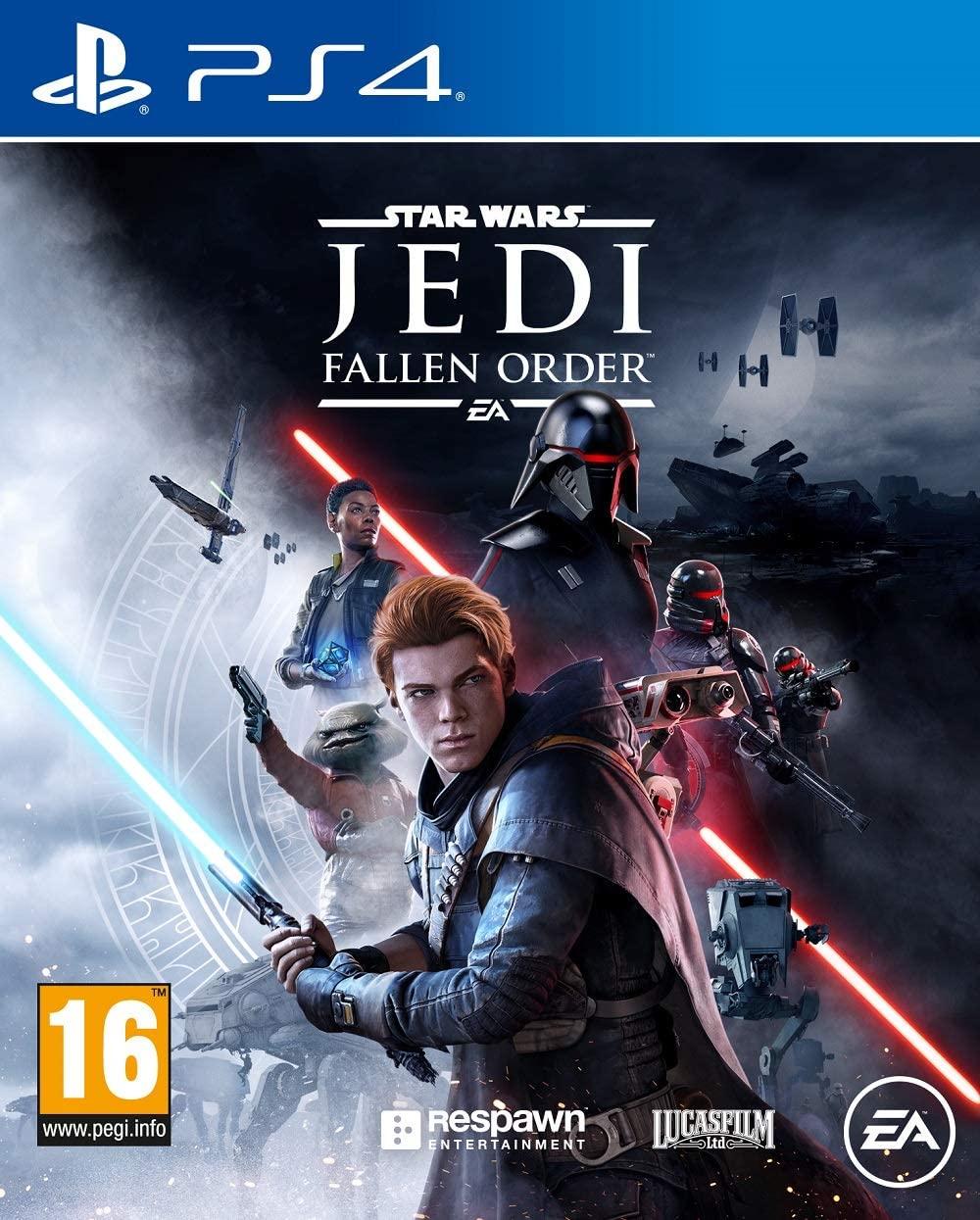 Sélection de jeux PS4 en promotion (Dématérialisé - Store Brésil) -- Ex : Star Wars Jedi : Fallen Order