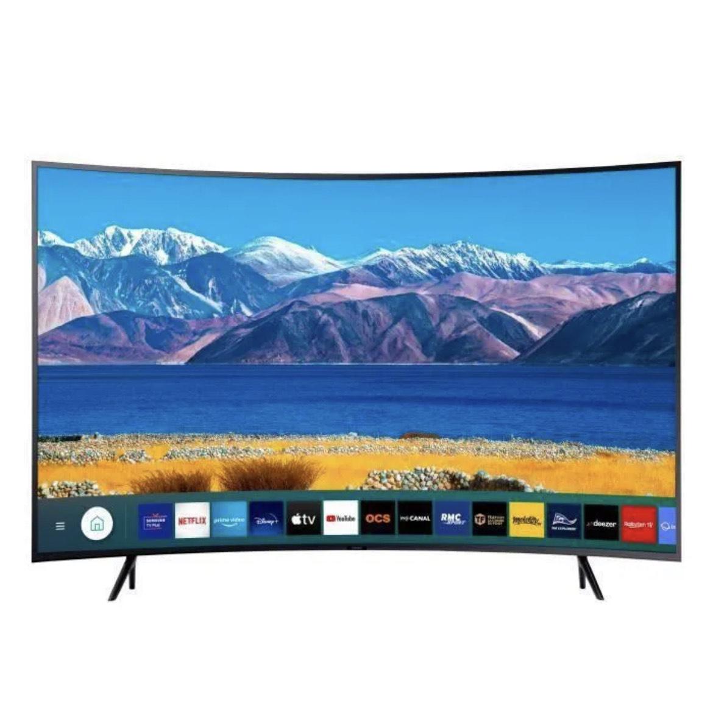 "TV incurvée 55"" Samsung UE55TU8372 - 4K UHD, HDR 10+, LED, Smart TV"