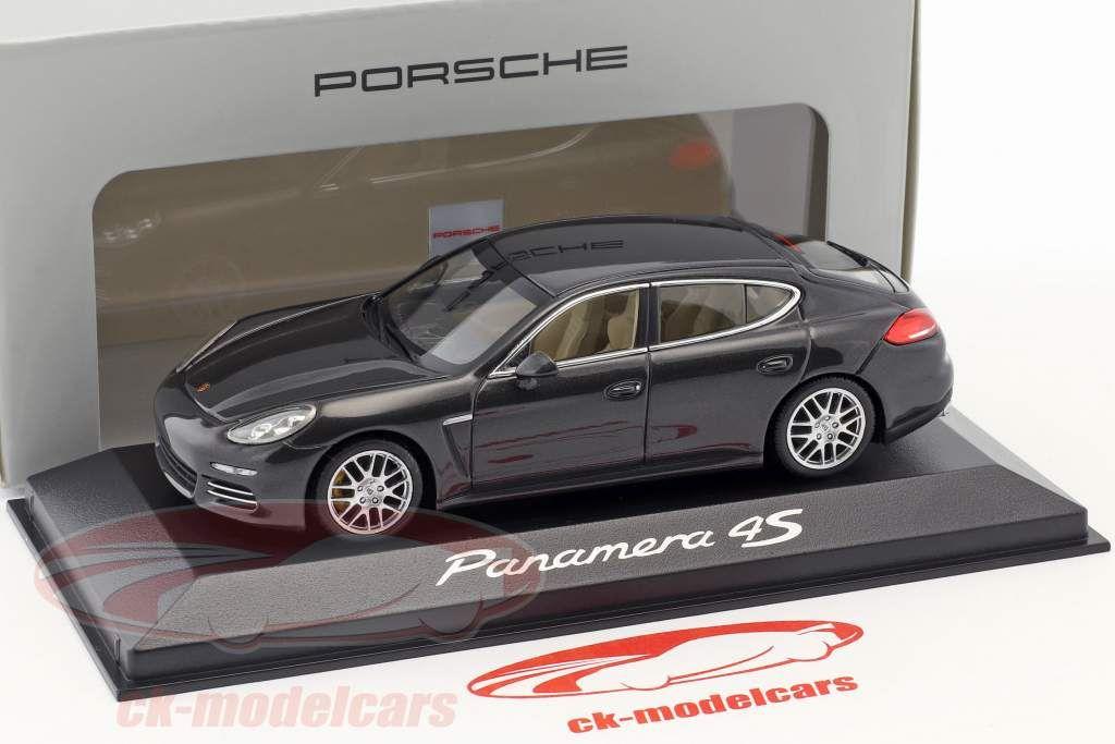 Porsche Panamera 4S Gen II. année 2014 carboxylique gris 1:43 Minichamps (Livraison comprise - ck-modelcars.de)
