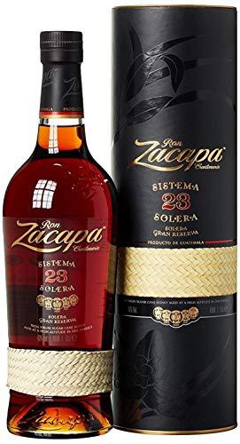 Bouteille de rhum Zacapa Sistema Solera 23 - mélange de rhums de 6 à 23 ans d'âge, 70 cl