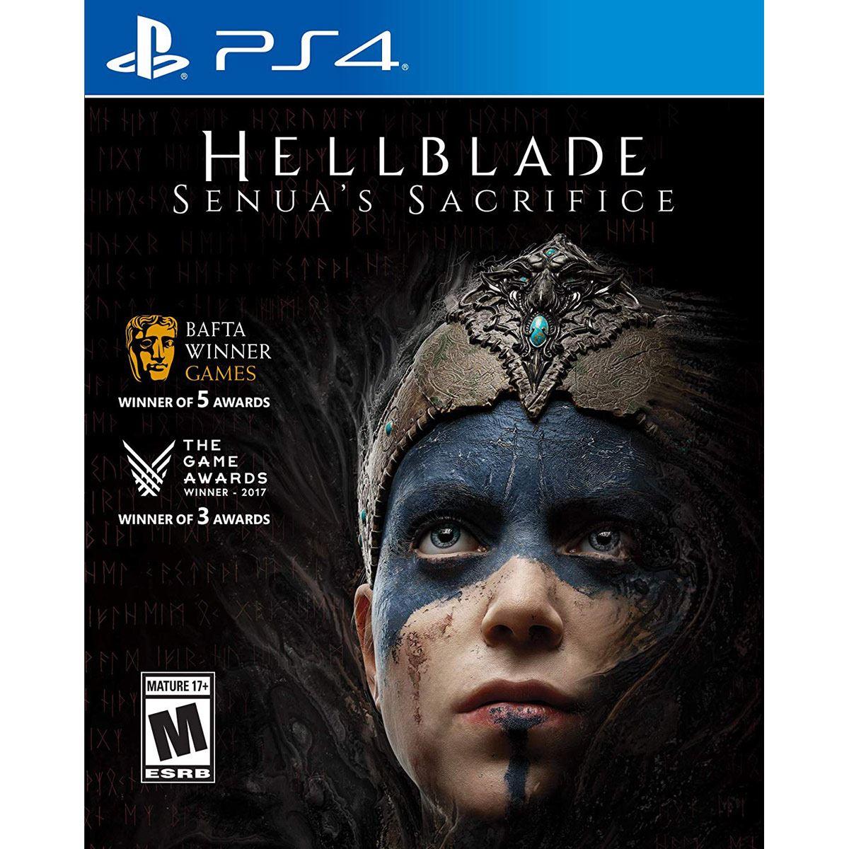 Hellblade: Senua's Sacrifice sur PS4 (Dématérialisé)