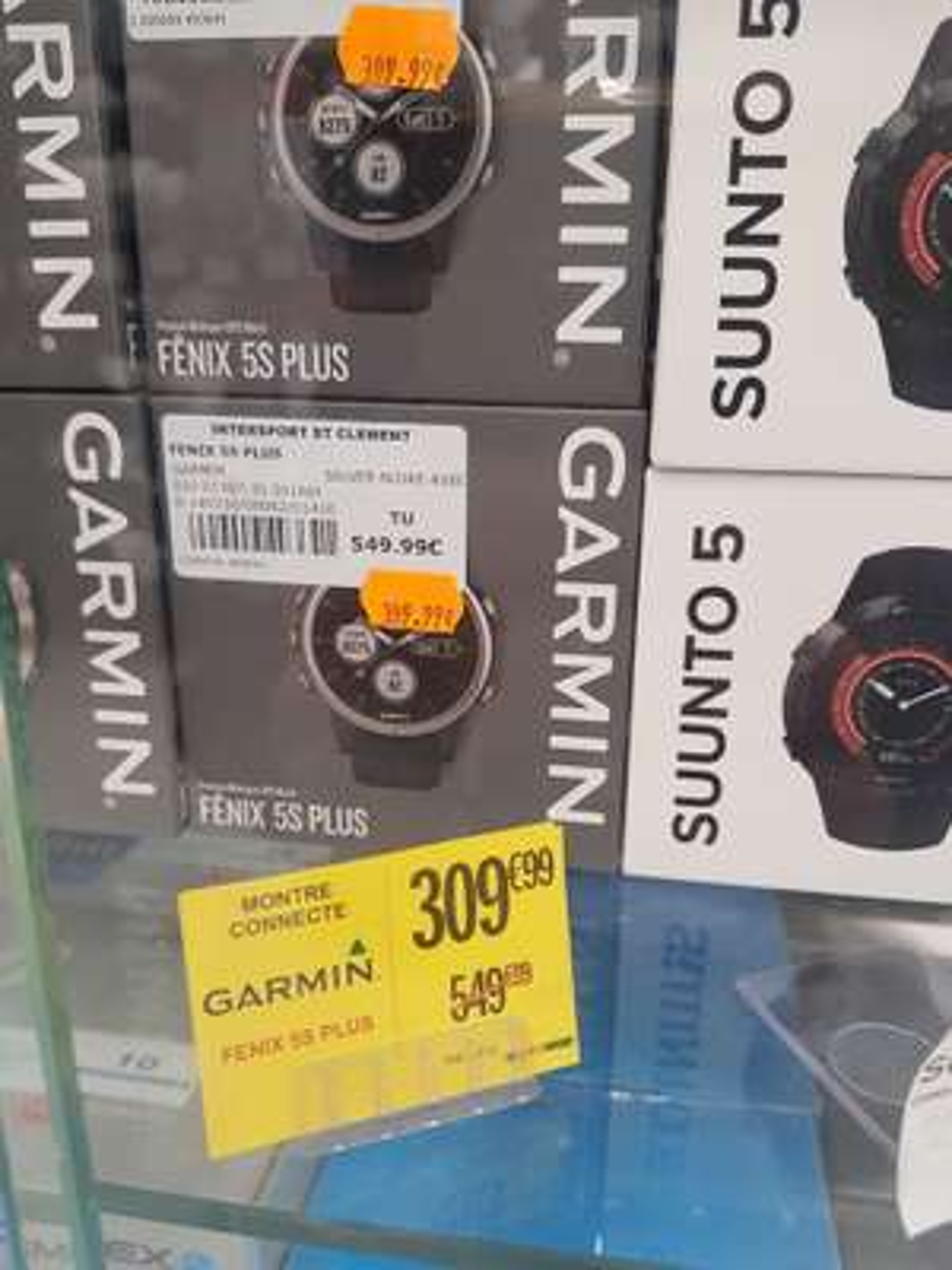 Montre connectée GPS Garmin Fenix 5S Plus - Montpellier (34)