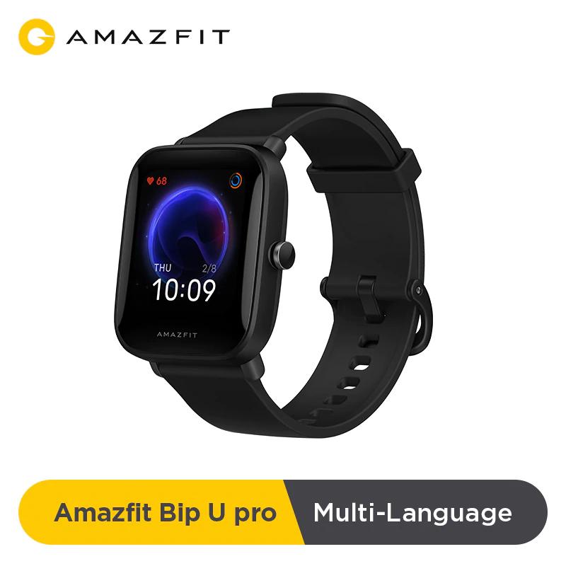 Montre connectée Amazfit Bip U Pro - Noir (via coupon vendeur)