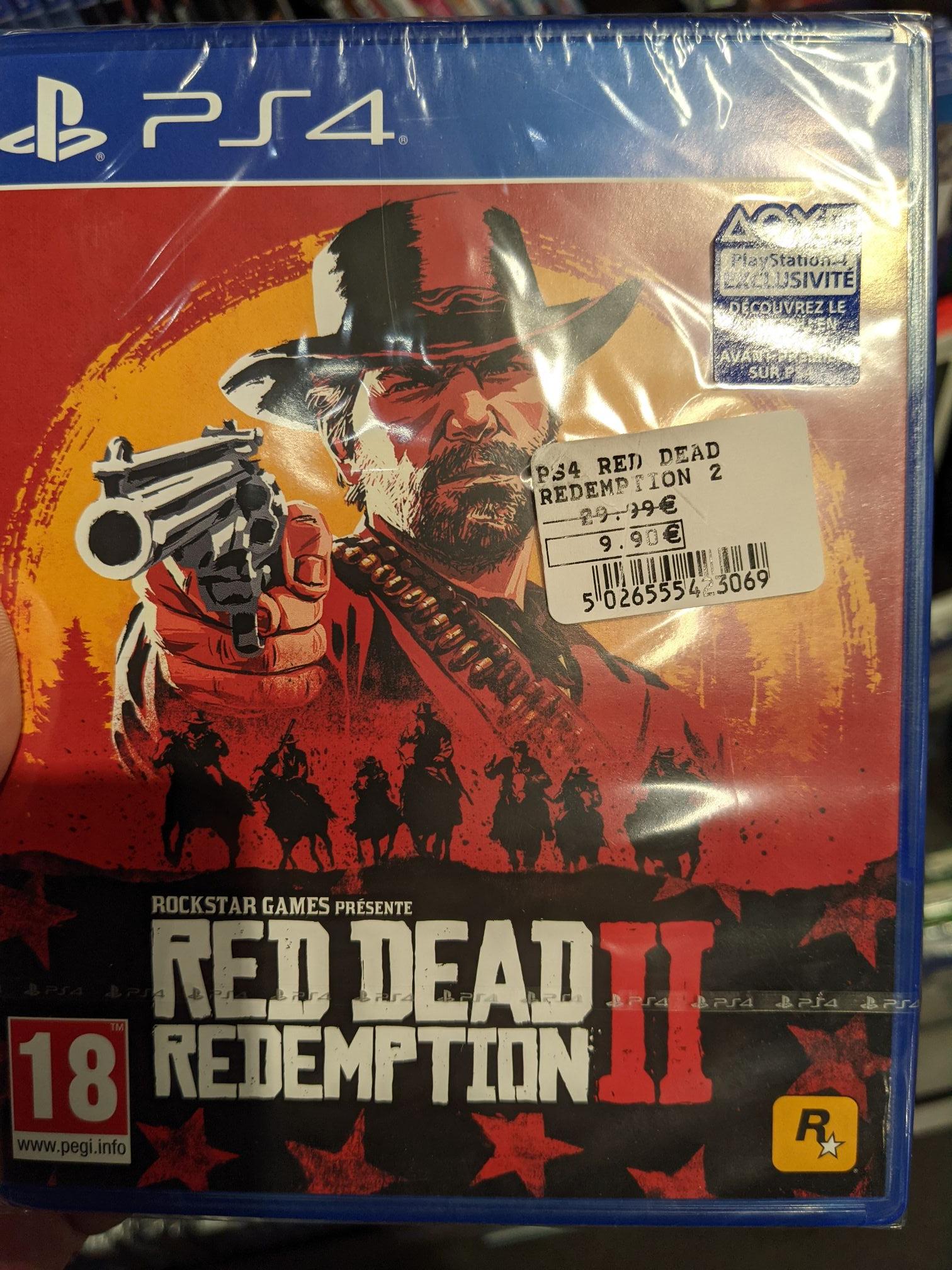 Red Dead Redemption II sur PS4 - Erstein (67)