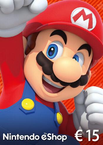 Carte Nintendo eShop de 15€ (Dématérialisé)