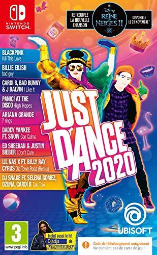 Just Dance 2020 sur Switch (code de téléchargement dans la boîte)